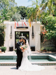 wedding in Los Angeles by Arian Wood Photography
