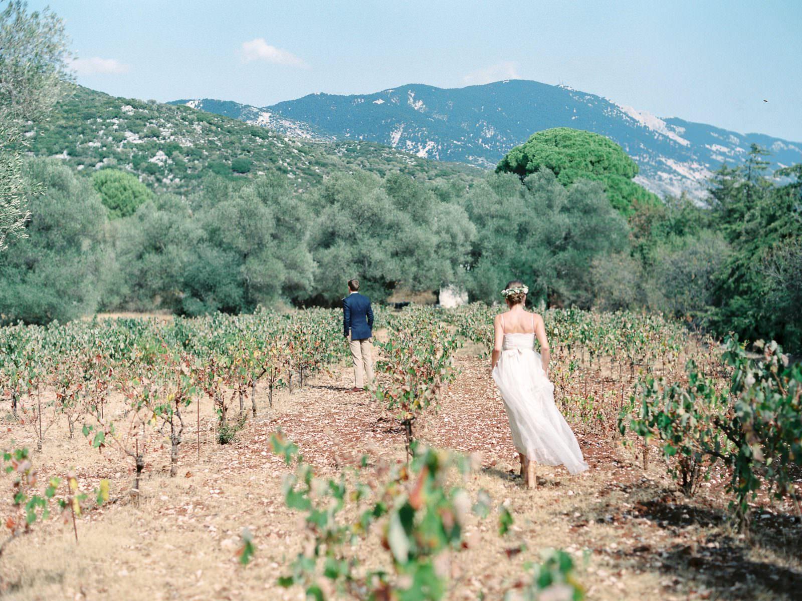first look at Gentilini Retreat wedding venue