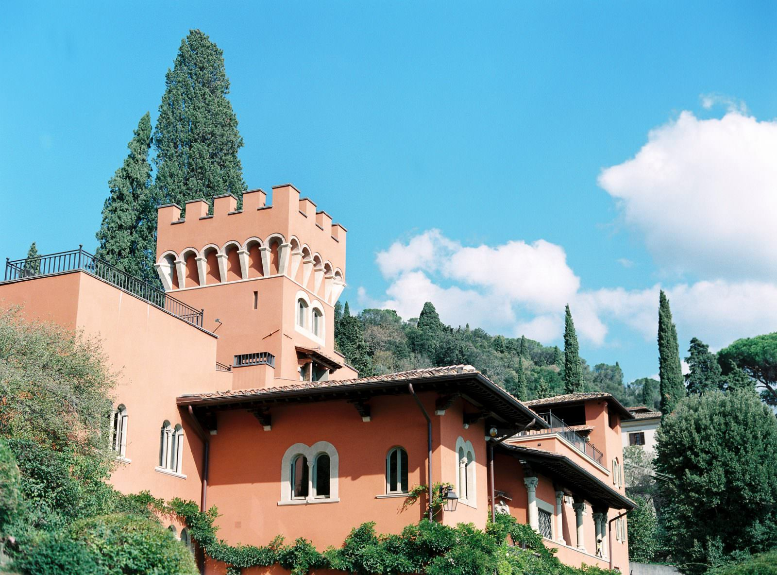Tuscan Villa Le Fontanelle the ideal wedding venue in Italy