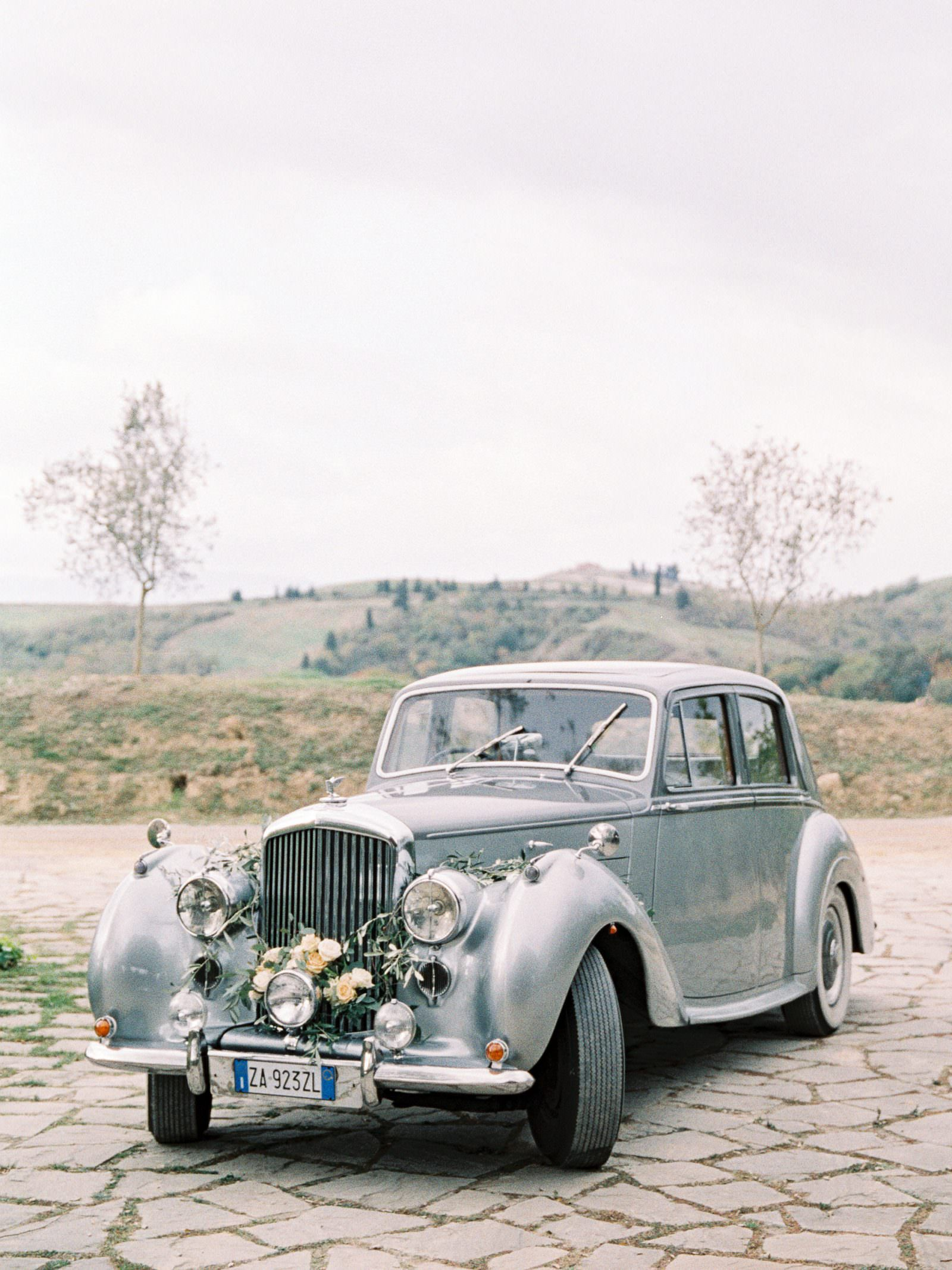 Rolls Royce Wedding cars in Tuscany photographed by Adrian Wood Photography
