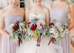 Brides Bouquet for Wedding at Villa Mangiacane, Florence by Adrian Wood Photography