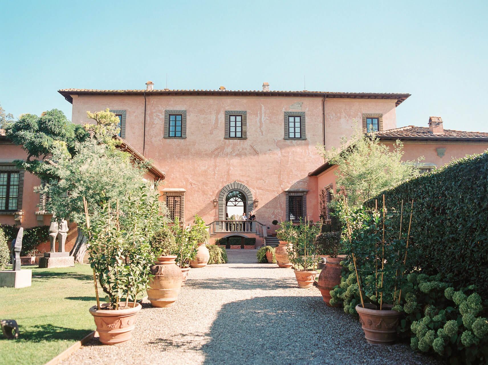 Luxury Wedding Venue in Tuscany Villa Mangiacane