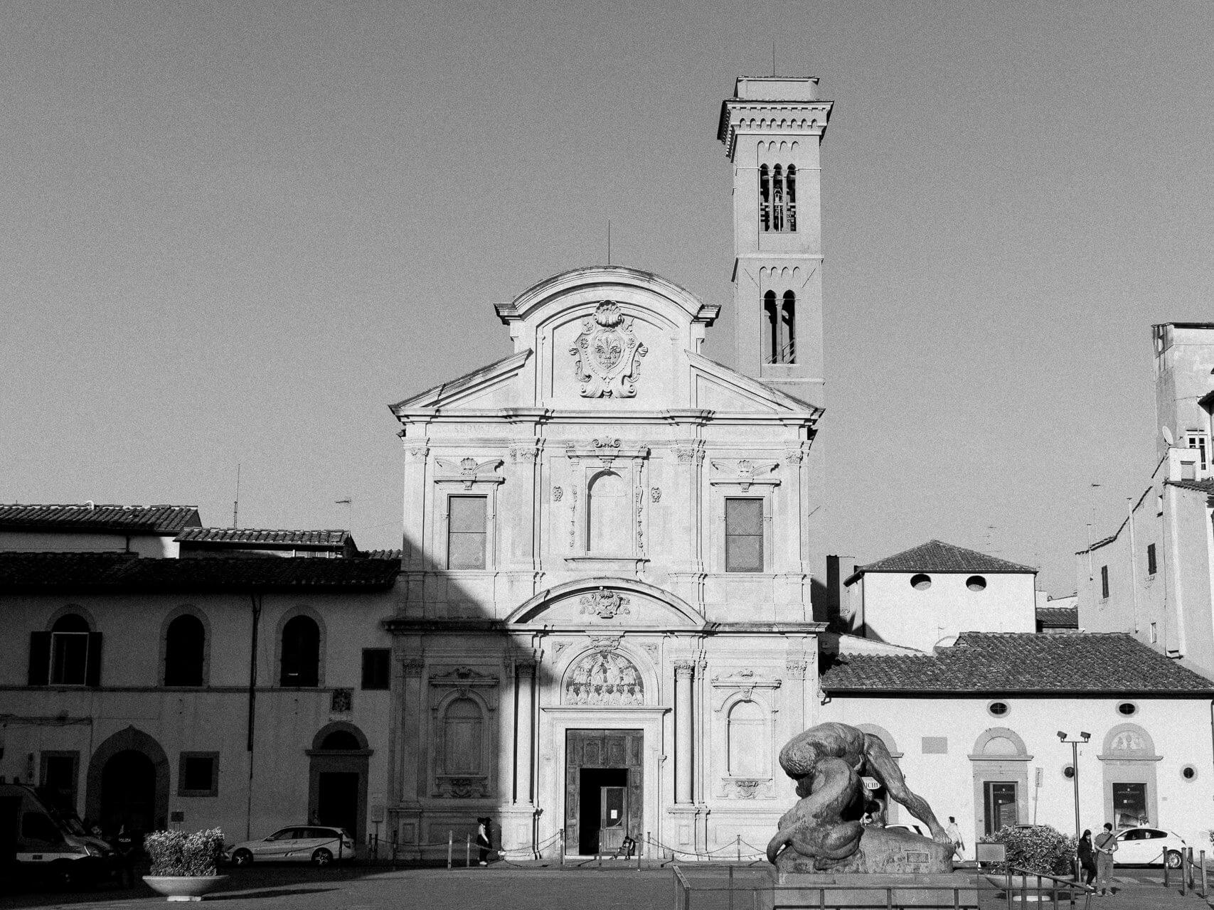 getting married at Church of Chiesa Ognissanti florence