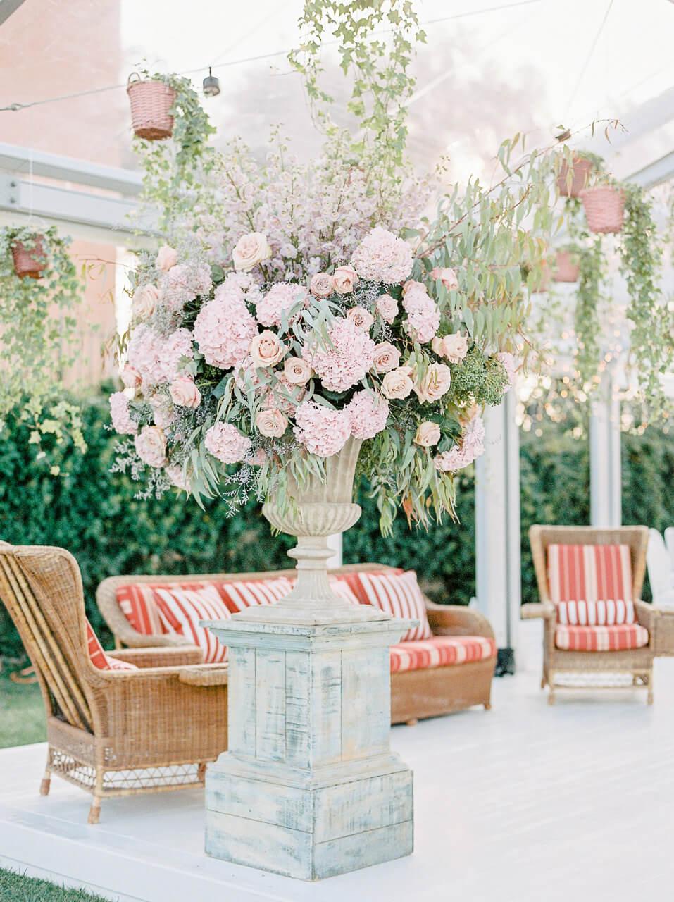 best wedding flower designers at Villa Mangiacane