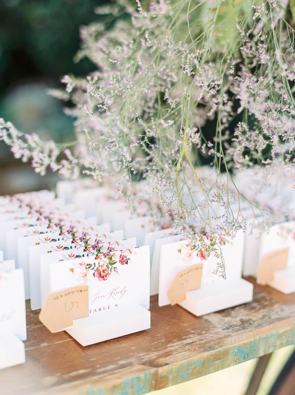 wedding invitations for Villa Mangiacane florence,
