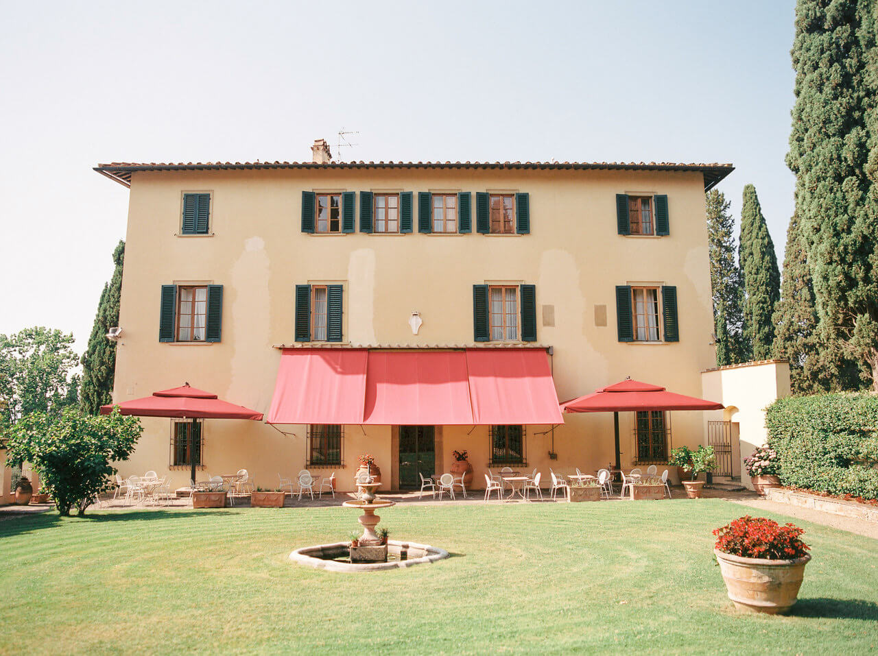 Art Hotel Villa Agape in Florence Tuscany an ideal wedding venue