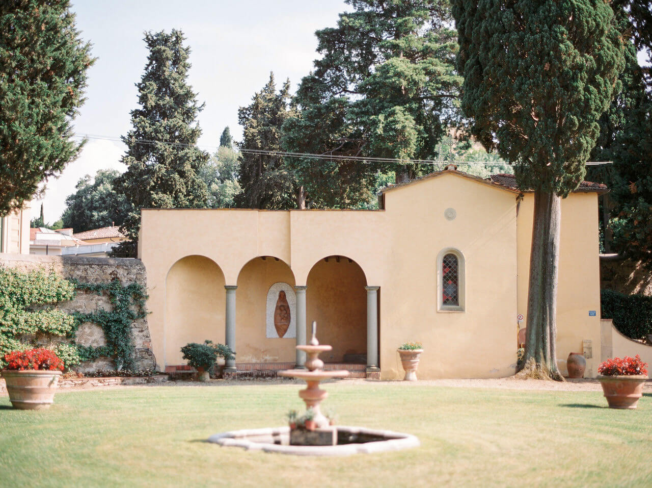 Italian Wedding Chapel in Villa Agape Art Hotel