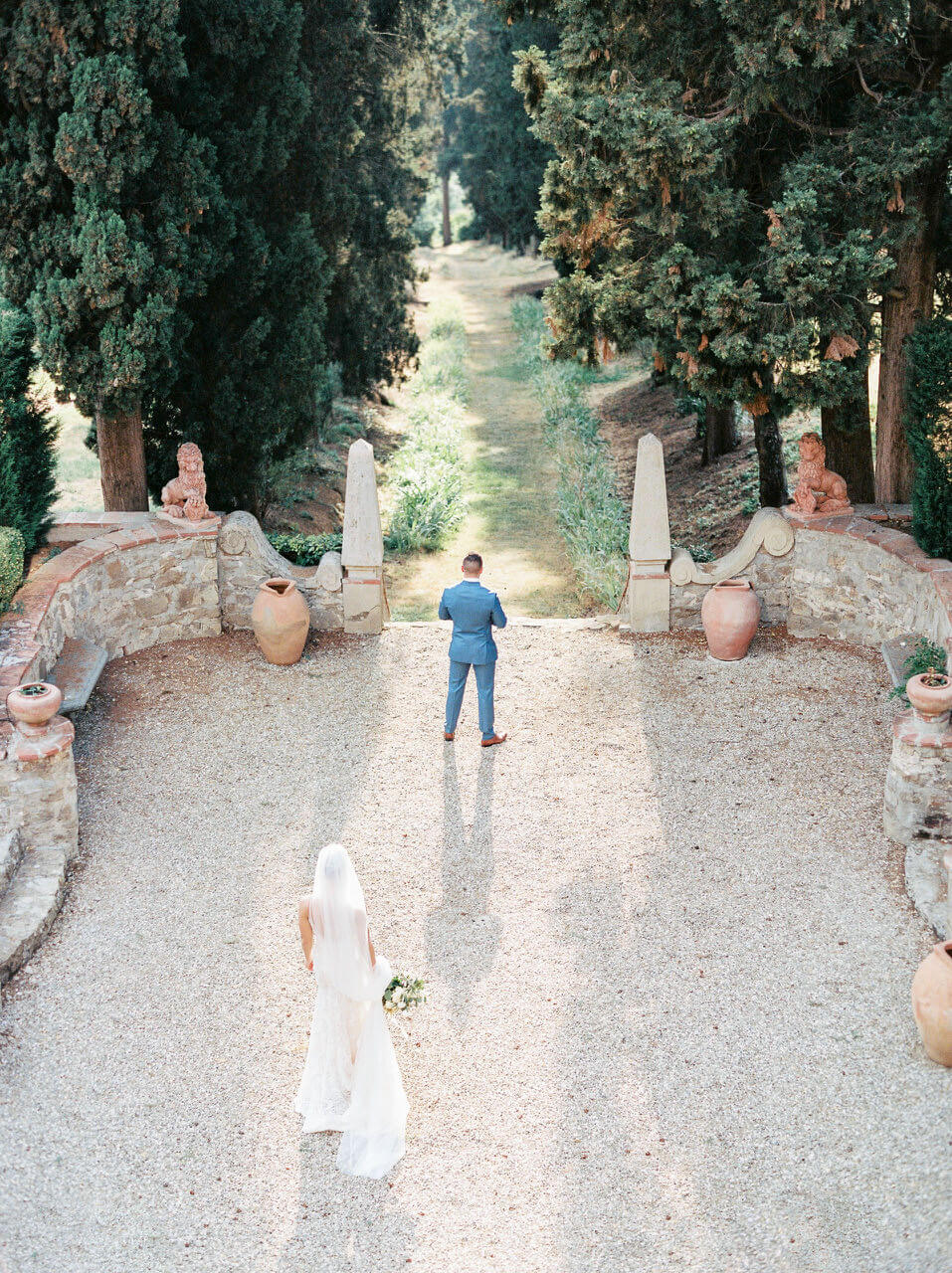 Best first look location in Tuscany - Villa Agape