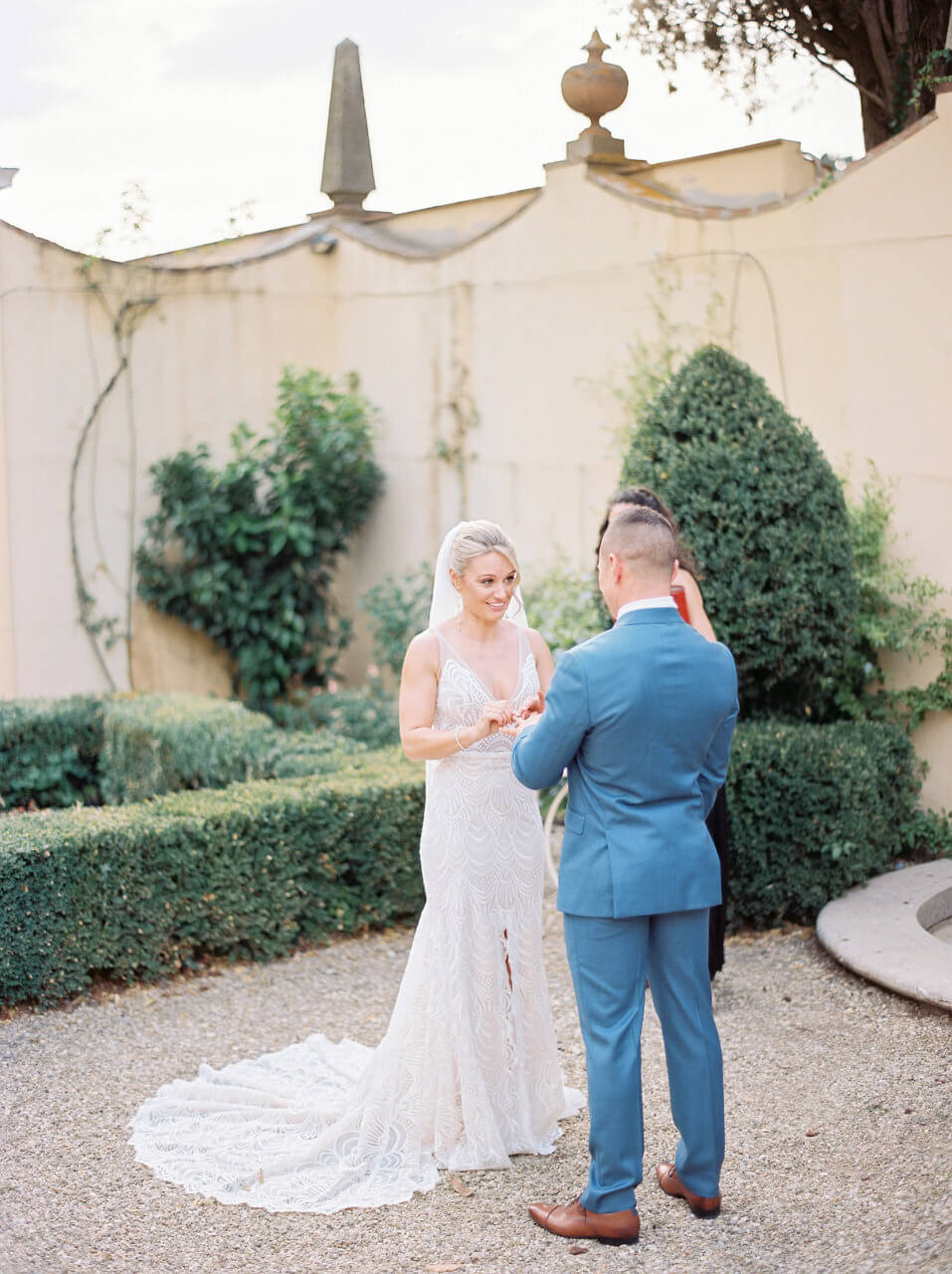 Wedding vows in Tuscany - Villa agape