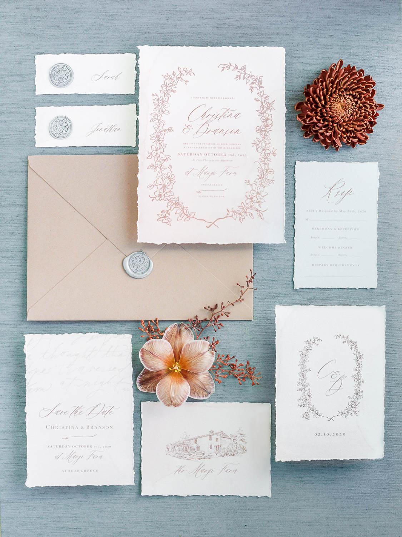 wedding-stationary-margi-farm-athens-ideas