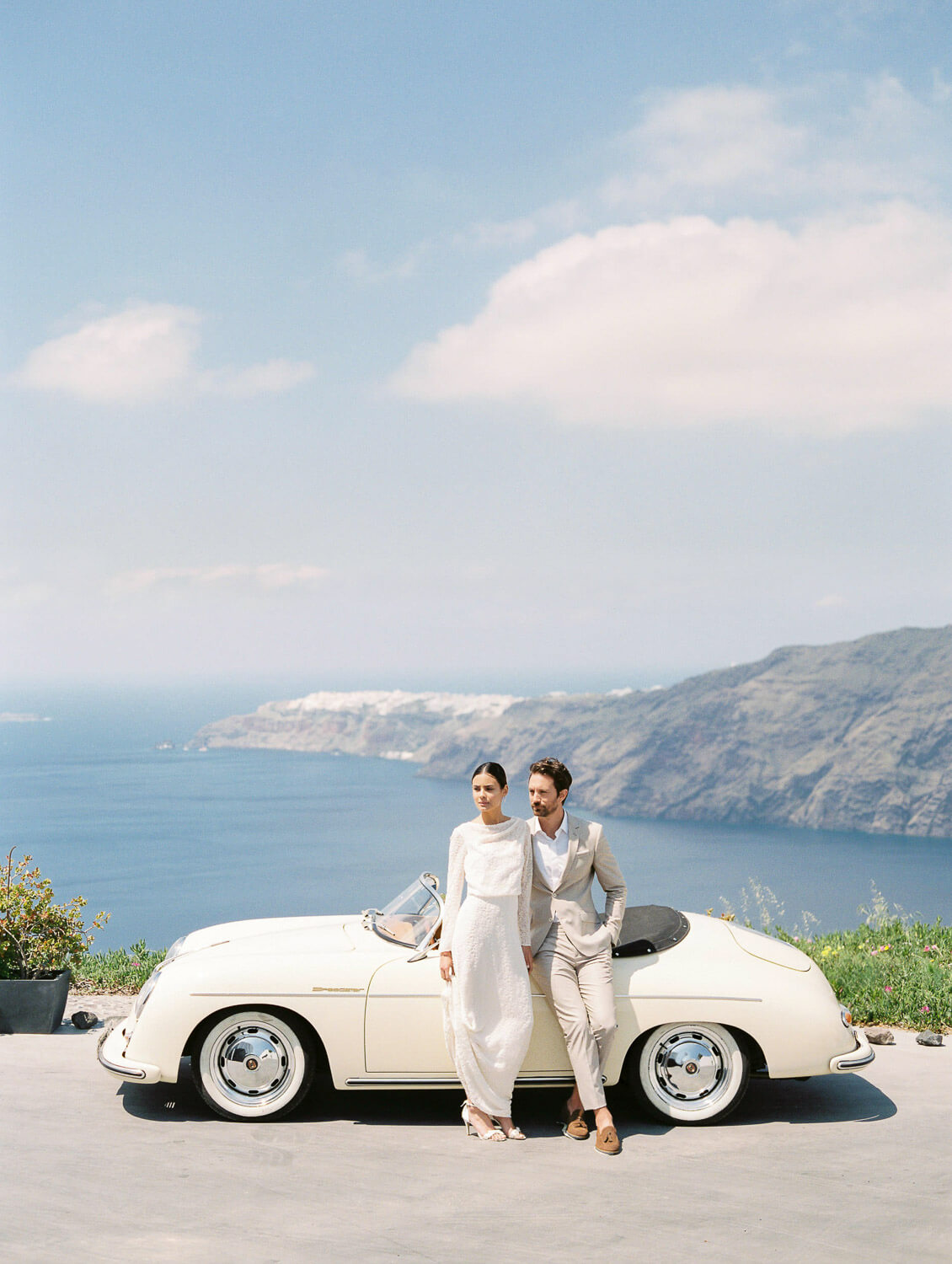 porche-wedding-car-santorini